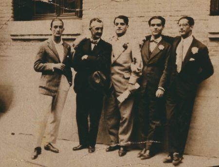 Exposición José Moreno Villa, óleos y dibujos, 1926-1951