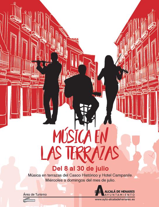 Música en las terrazas, el verano en Alcalá de Henares