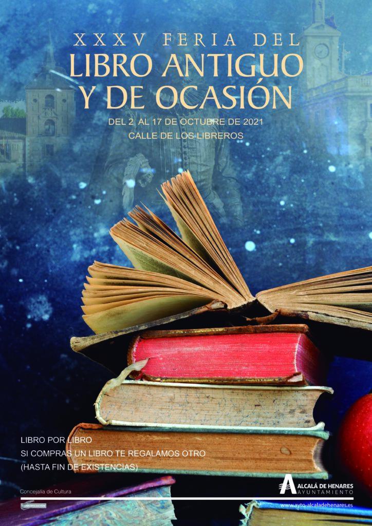 XXXV edición, Feria del Libro Antiguo y de Ocasión, Alcalá de Henares