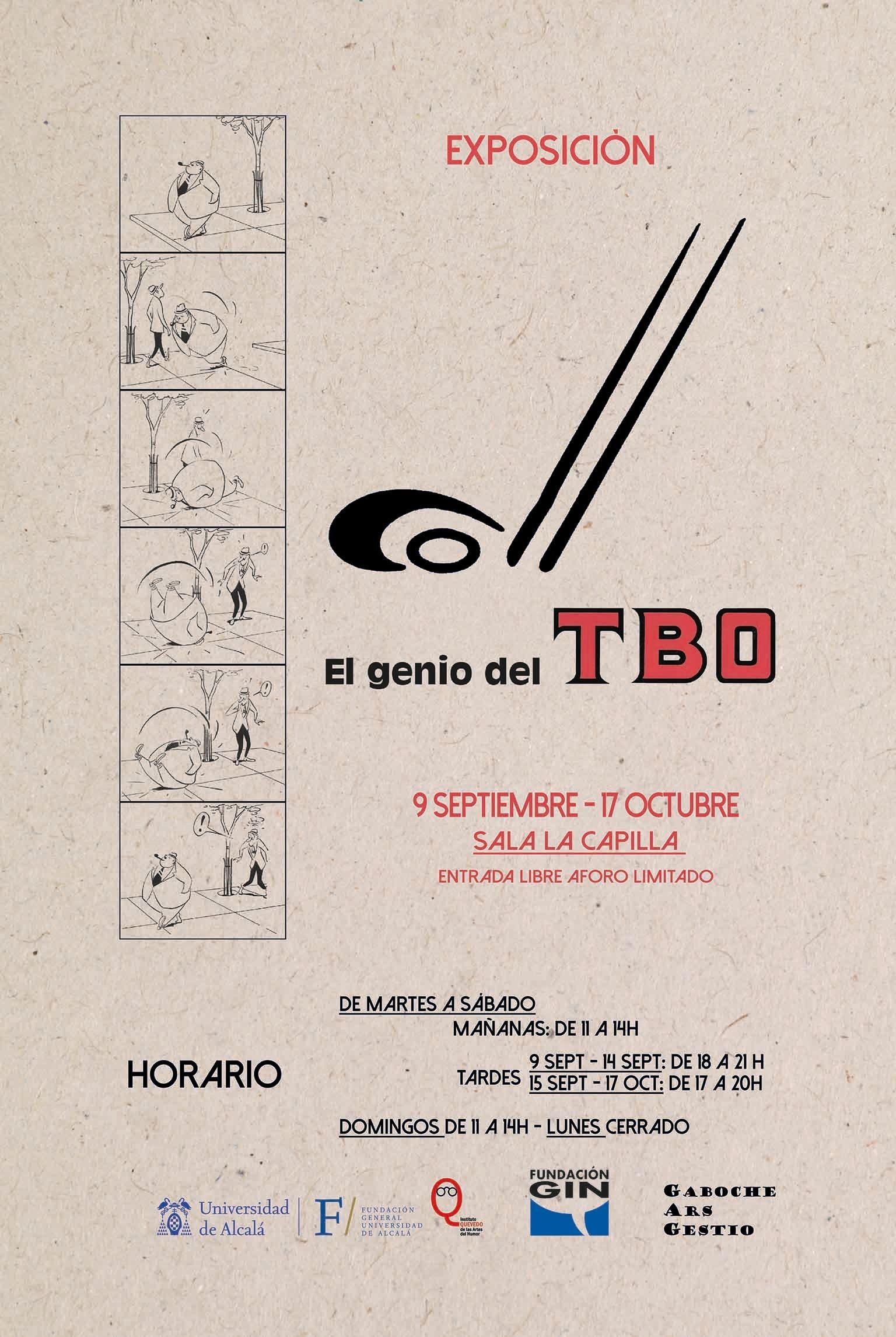 Coll, el genio del TBO, exposición en Alcalá de Henares