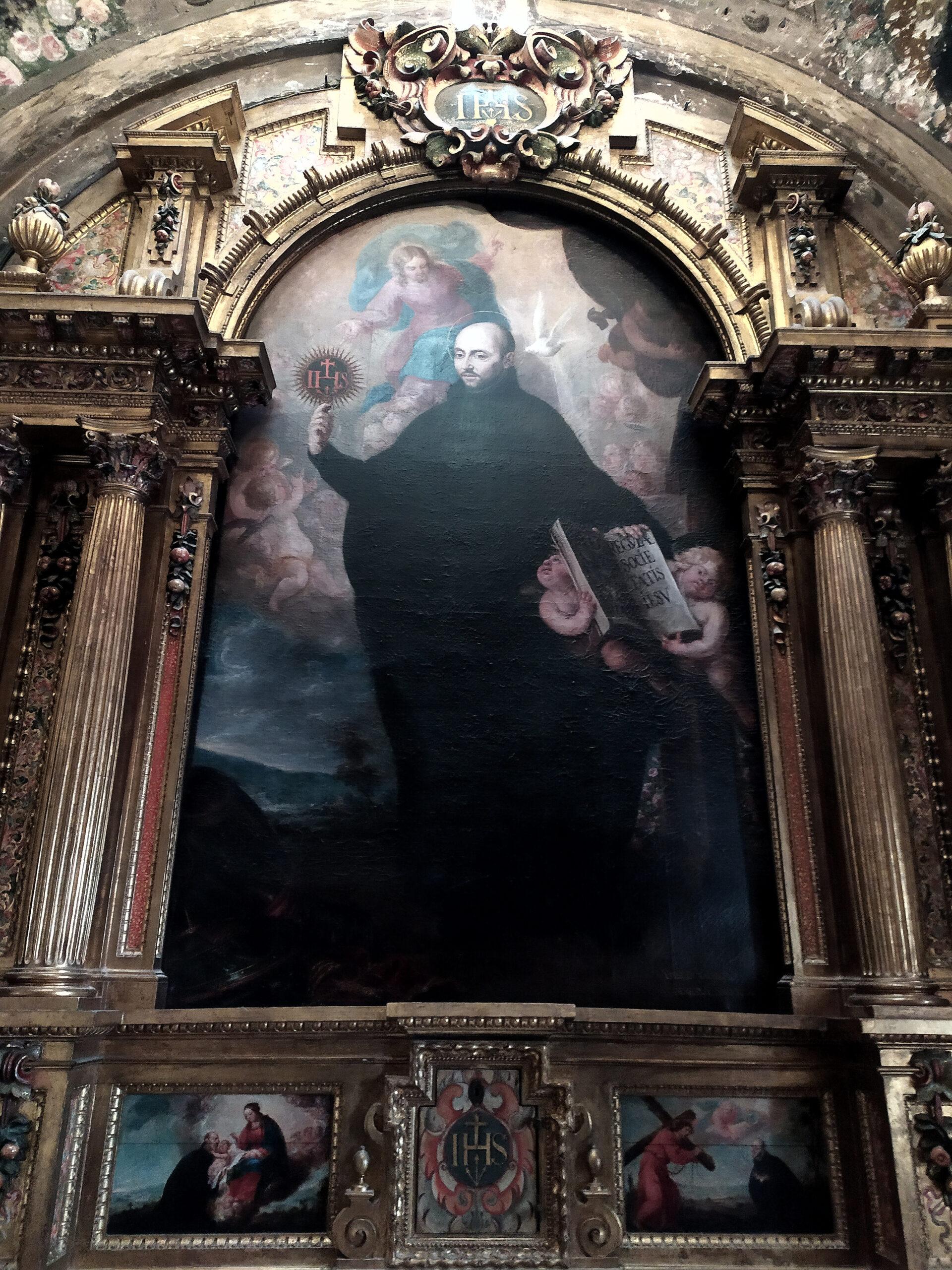 Luis González de la Vega, un pintor barroco, antiguo Hospital de Antezana