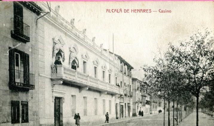 El Casino de Alcalá de Henares, paseo de Cervantes, 3 y 4
