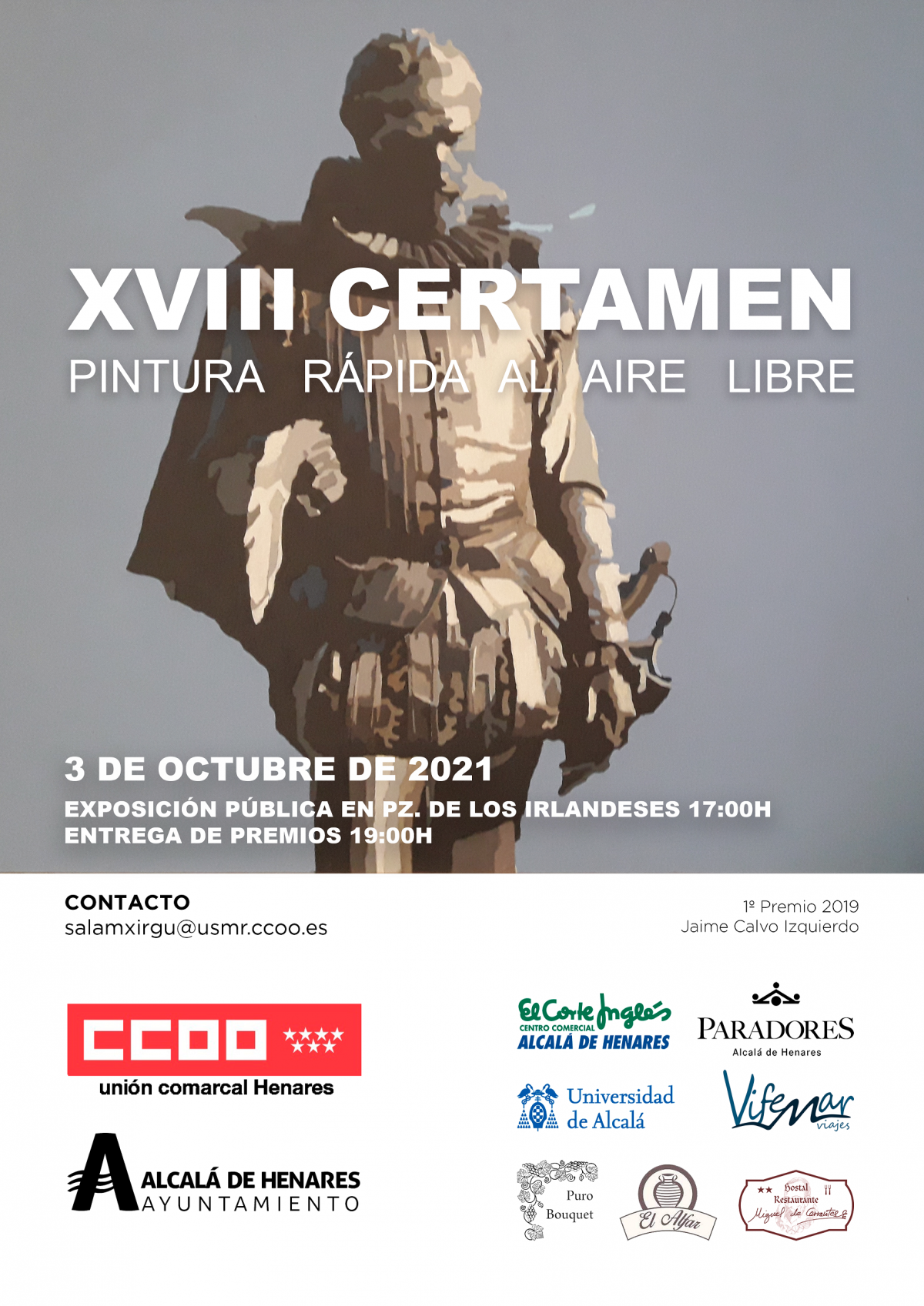 XVIII Certamen de pintura al aire libre de Alcalá de Henares