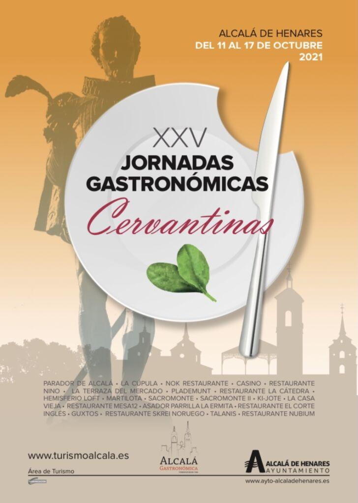 XXV Jornadas Gastronómicas Cervantinas, Alcalá de Henares
